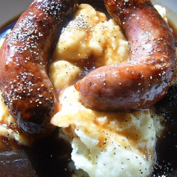 Sausage & Mash - Cook n Care Meals On Wheels North Glasgow