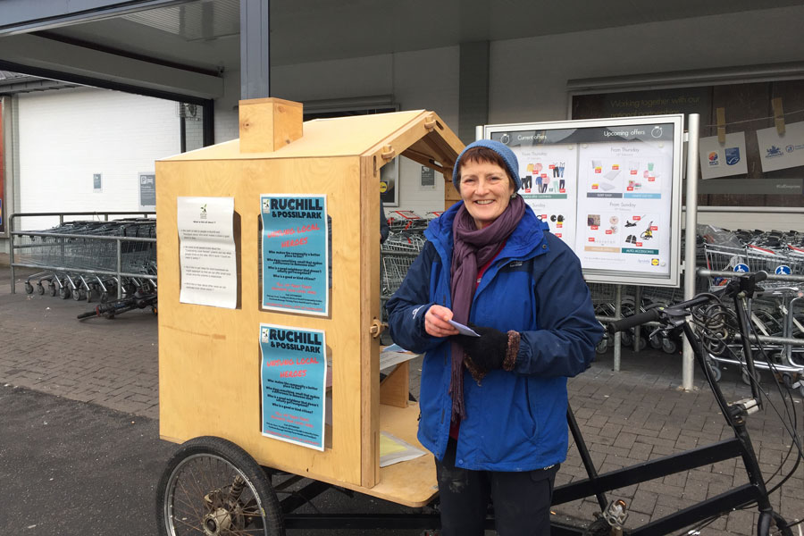 Unsung Local Heroes Launches in Ruchill and Possilpark