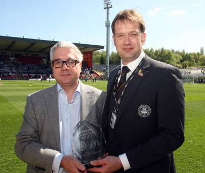 ng Homes Board Members Recognised as Community Champion by Partick Thistle